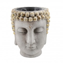 Macetero Buddha Head Flower...