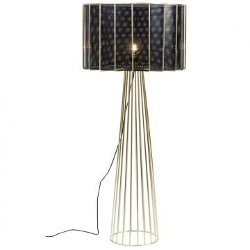 Lámpara de Pie Wire Bowl