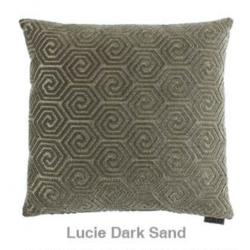 Cojín Lucie Dark Sand