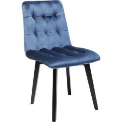 Silla Black Moritz Velvet Blue