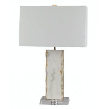 Lámpara Marble Gray/Gold