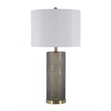 Lámpara Cylindrical Gray