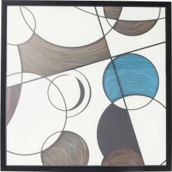 Cuadro Wall Art Circles