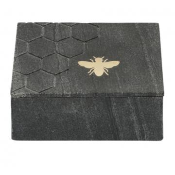 Caja Decorativa Marble Bee...
