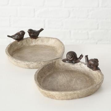 Bird Bath Lubin - Marrón